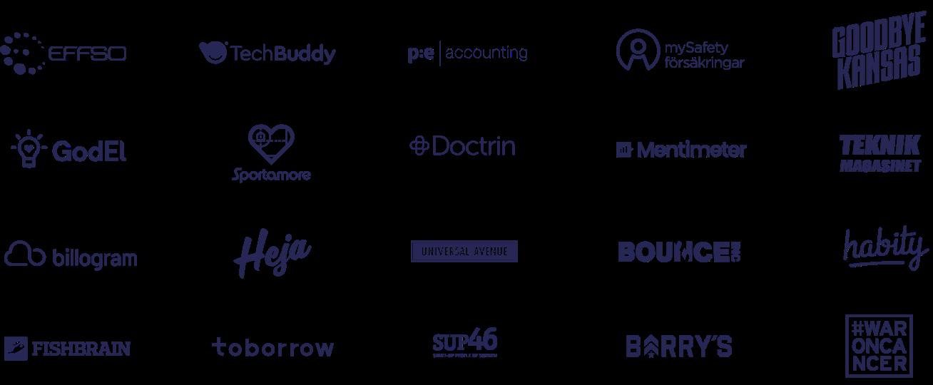 Telness Customer Logos