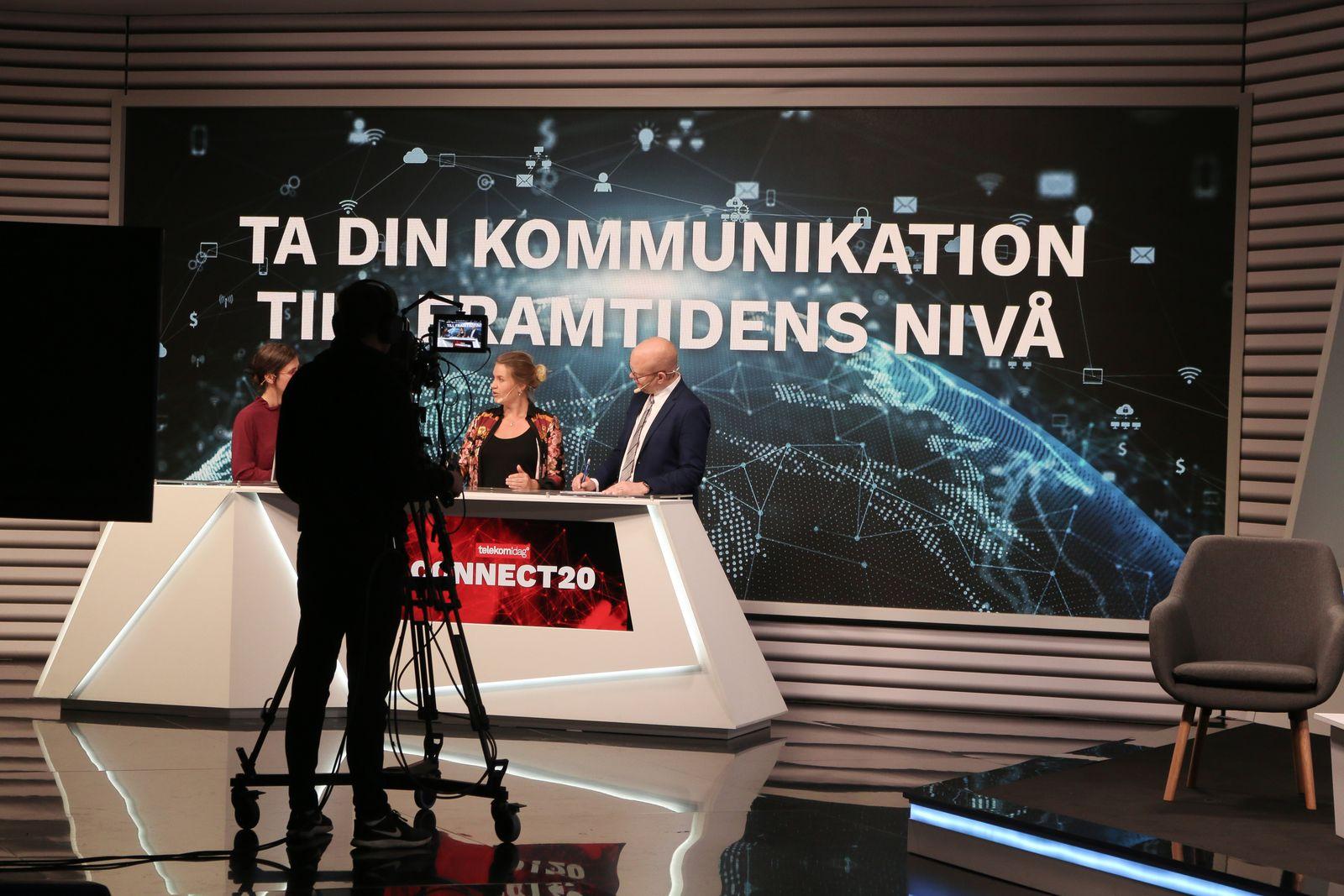 Martina Klingvall på Connect20 inspelningen