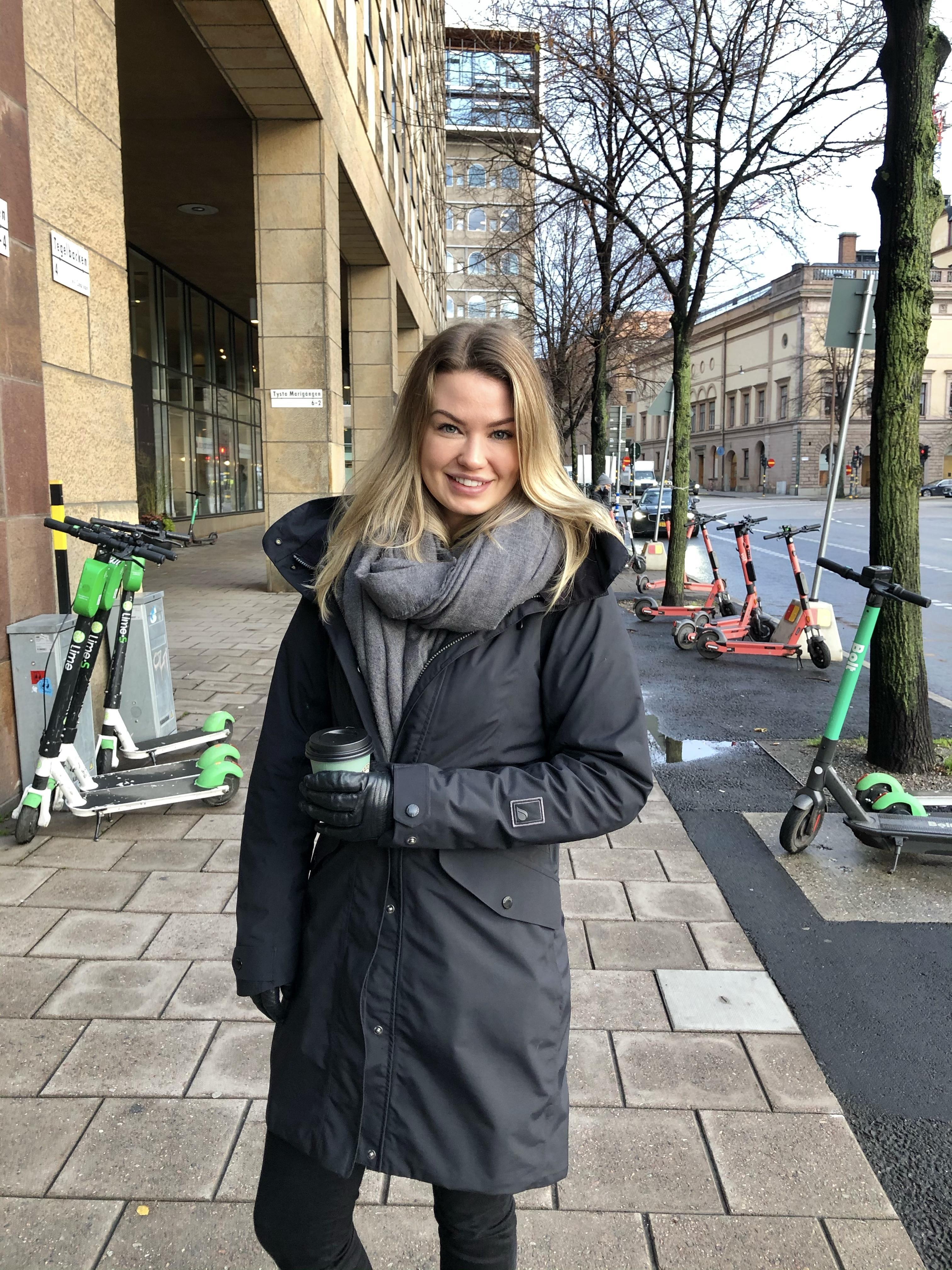 Telness Intern Jennie Rönnskär