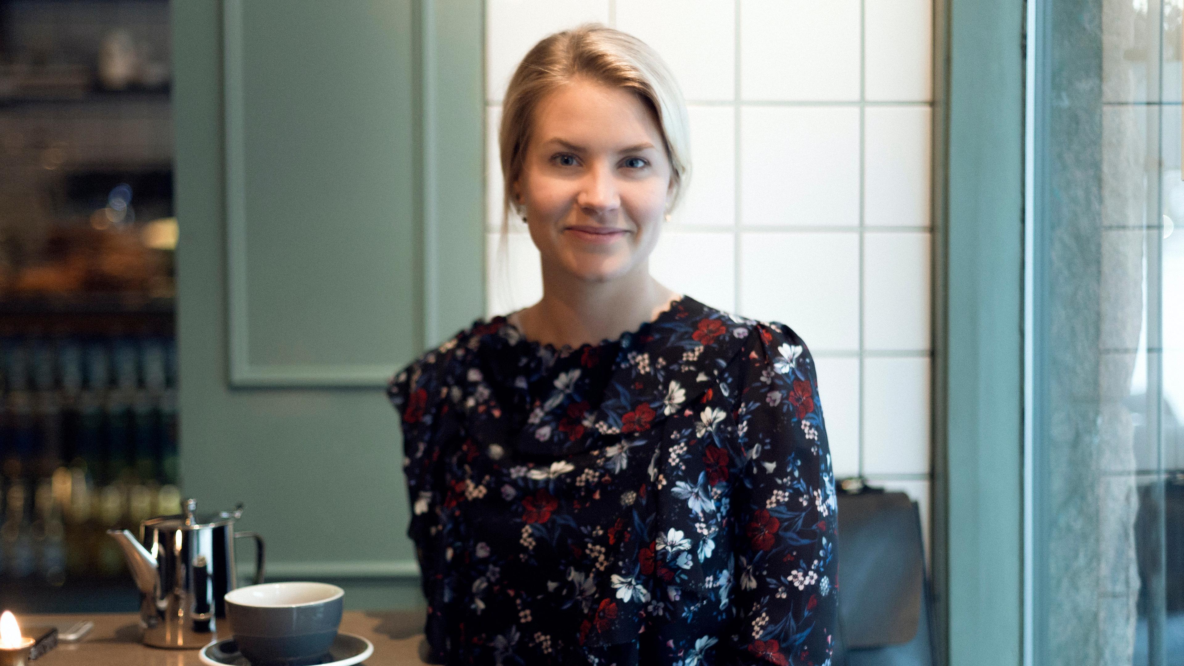 Martina Klingvall, vd och grundare på Telness.